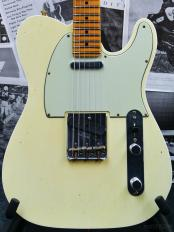 Guitar Planet Exclusive Custom22F 60s Telecaster FLASH-COAT Journeyman Relic -Aged Vintage White-【全国