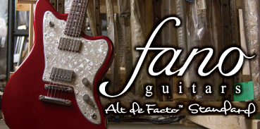 Fano Guitars : U.S.A.