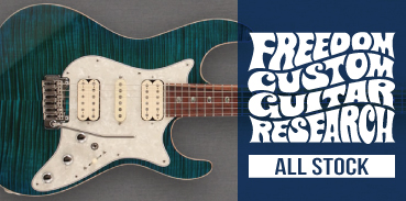 FREEDOM CUSTOM GUITAR RESEARCH : Japan