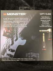 M BASS2 12ft (3.6m) S/L【ベース用シールド】【MONSTER BASS】