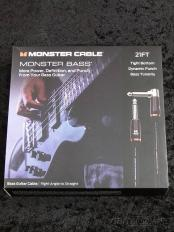 M BASS2 21ft (6.4m) S/L【ベース用シールド】【MONSTER BASS】