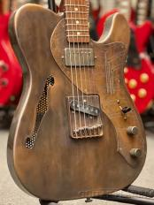 Deluxe Steelcaster -Copper on Gator Engraved Pickguard- 2006年製 【レア!】【MADE IN USA】【金利0%!】