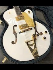 【Gretsch October Fest】 G6136T-WHT Players Edition Falcon-White-【3.67kg】【White Falcon】