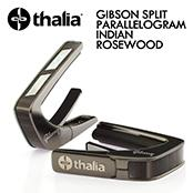 GIBSON SPLIT PARALLELOGRAM INDIAN ROSEWOOD -Brushed Black- │ ギター用カポタスト