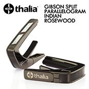GIBSON SPLIT PARALLELOGRAM INDIAN ROSEWOOD -Black Chrome- │ ギター用カポタスト