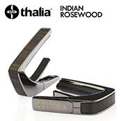 Exotic Wood INDIAN ROSEWOOD -Black Chrome- │ ギター用カポタスト
