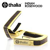Exotic Wood INDIAN ROSEWOOD -24K Gold-  │ ギター用カポタスト