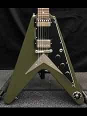 Flying V-Olive Drab Green-【20111528979】【3.31kg】【お好みの弦でセットアップキャンペーン!!】【全国送料無料!】【金利0%!!】